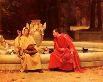 Jehan Georges Vibert : A Fine Point