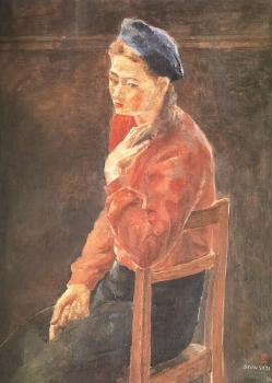 A Woman in a Beret