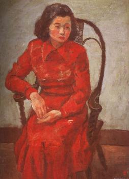 Woman in a Chair