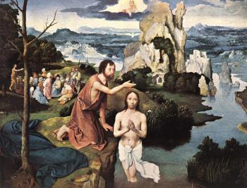 Joachim Patinir : Baptism Of Christ