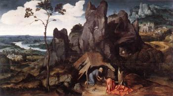 Joachim Patinir : St Jerome In The Desert
