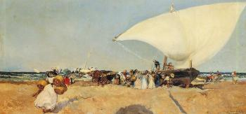 Arrival of the Boats
