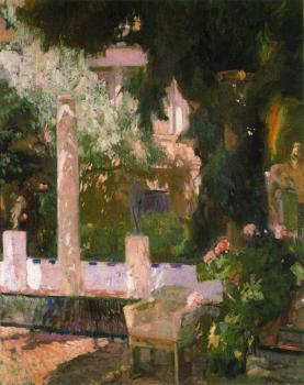 Garden of the Sorolla House