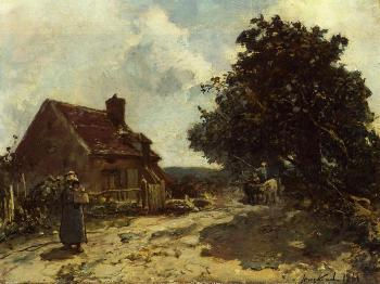 Johan Barthold Jongkind : In the Vicinity of Nevers