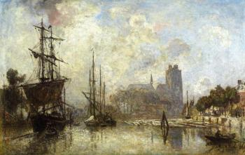 Johan Barthold Jongkind : The Port of Dordrecht
