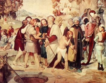 Johann Friedrich Overbeck : Joseph Being Sold By His Brothers
