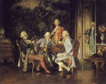 Johann Hamza : The Chess Players