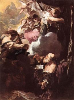 Johann Liss : The Ecstasy Of St Paul