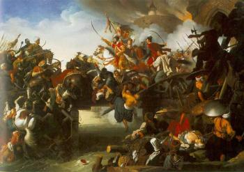 Johann Peter Krafft : The Attack Of Zrinyi