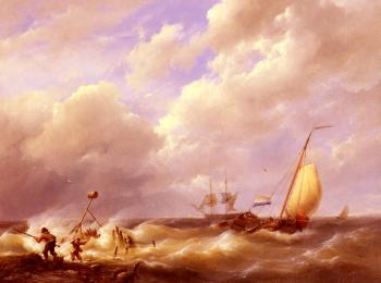 Johannes Hermanus Koekkoek : Willem A Sea Piece
