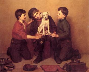 John George Brown : The Foundling
