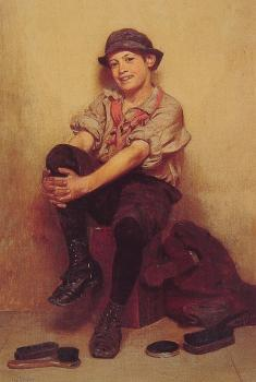 John George Brown : Taking It Easy