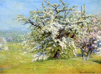 John Joseph Enneking : Blooming Meadows