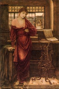 John Melhuish Strudwick : Isabella and the Pot of Basil