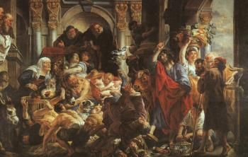 Jacob Jordaens : Christ Driving the Merchants from the Temple