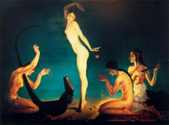 Jorge Apperley : A Dancer of Ancient Egypt