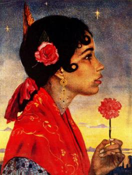 Jorge Apperley : Clavelina, the gypsy girl