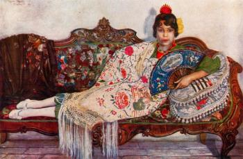 Jorge Apperley : Concha, the gypsy girl