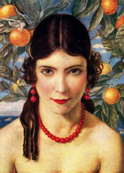 Jorge Apperley : The girl with oranges