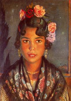 Jorge Apperley : Concha, the gypsy girl II