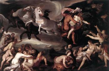 Joseph Heintz The Elder : The Rape Of Prosperina