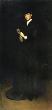 Joseph R DeCamp : Arrangement in Black No. 8 Portrait of Mrs Cassatt