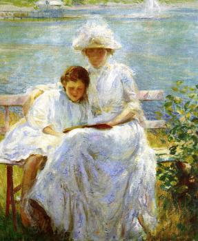 Joseph R DeCamp : June Sunlight