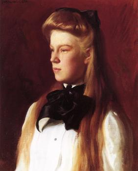 Joseph R DeCamp : Miss Alice Boit