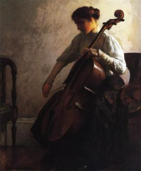 Joseph R DeCamp : The Cellist