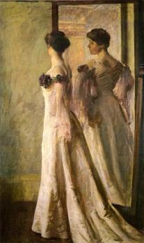 Joseph R DeCamp : The Heliotrope Gown