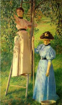 Joseph R DeCamp : The Pear Orchard