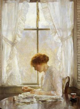 Joseph R DeCamp : The Seamstress