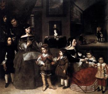 Juan Bautista Martinez Del Mazo : The Artists Family