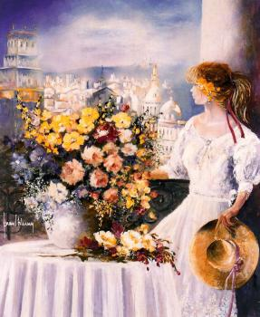 Juan Fortuny : Canvas painting IX