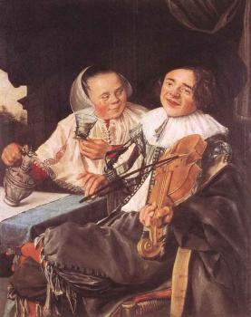 Judith Leyster : Carousing Couple