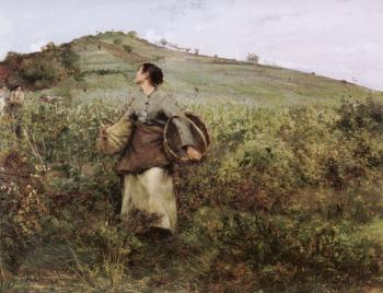 Jules Bastien-Lepage : At Harvest Time