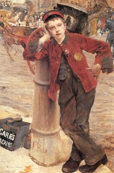 Jules Bastien-Lepage : The London Bootblack