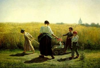 The Departure for the Fields