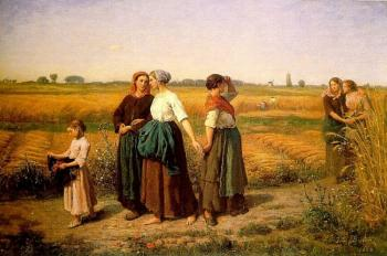 Jules Breton : The Reapers