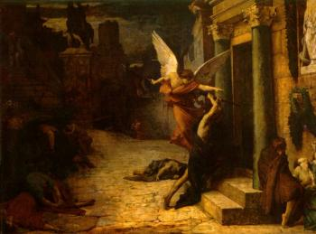 Jules-Elie Delaunay : The Plague of Rome