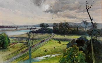 Julian Ashton : Shoalhaven river, junction with broughton creek, new south wales