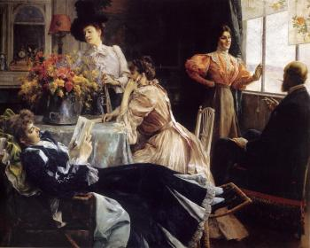 Julius LeBlanc Stewart : At Home