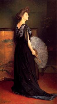 Portrait Of Mrs Francis Stanton Blake