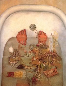 A painting of What The Water Gave Me by Frida Kahlo Frida Kahlo