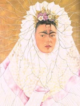 Frida Kahlo : Self Portrait as a Tehuana