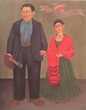 Frida Kahlo : Frieda and Diego Rivera