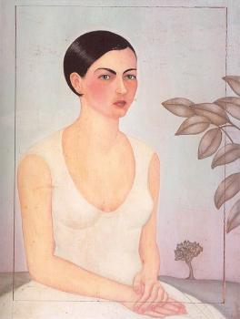 Frida Kahlo : Portrait of Cristina My Sister