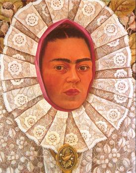 Frida Kahlo : Self Portrait, II
