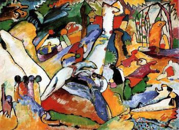 Wassily Kandinsky : Study to 'Composition II'