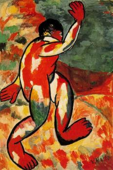 Kazimir Malevich : Bather